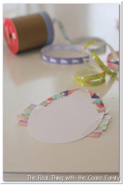Making Homemade Cards using Ribbon