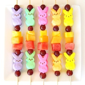 Peeps Fruit Kabobs Recipe
