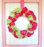 Spring Flower Wreath Tutorial Easy