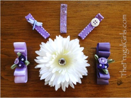 Spring Hair Clips