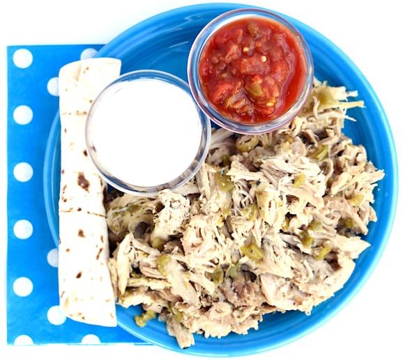 Crockpot Green Chile Chicken Recipe Easy