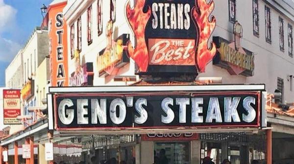 Geno's Steaks in Philadelphia