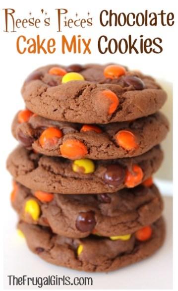 Reeses Cake Mix Cookies Recipe