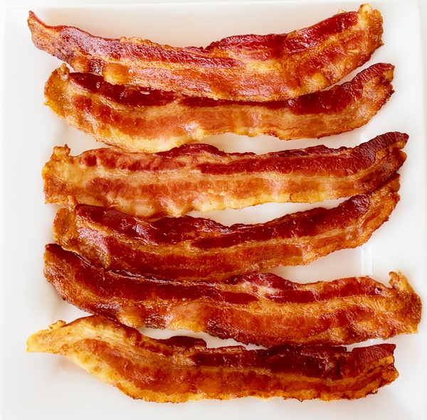 Perfect Crispy Bacon in Oven Trick at TheFrugalGirls.com