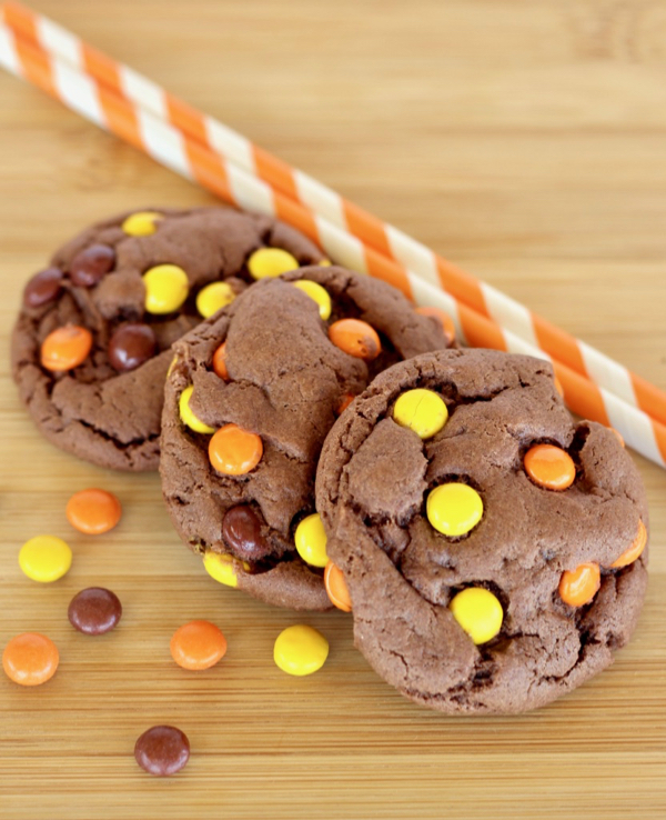 Reese's Pieces Chocolate Cookies Recipe