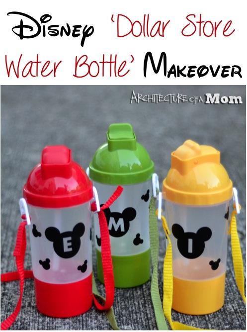 Disney Water Bottle Crafts at TheFrugalGirls.com