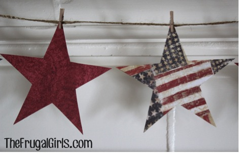 4th of July Star Crafts
