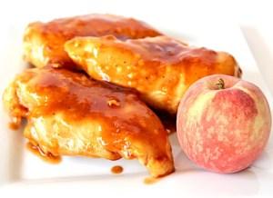 Crockpot Peach Chipotle Chicken Recipe