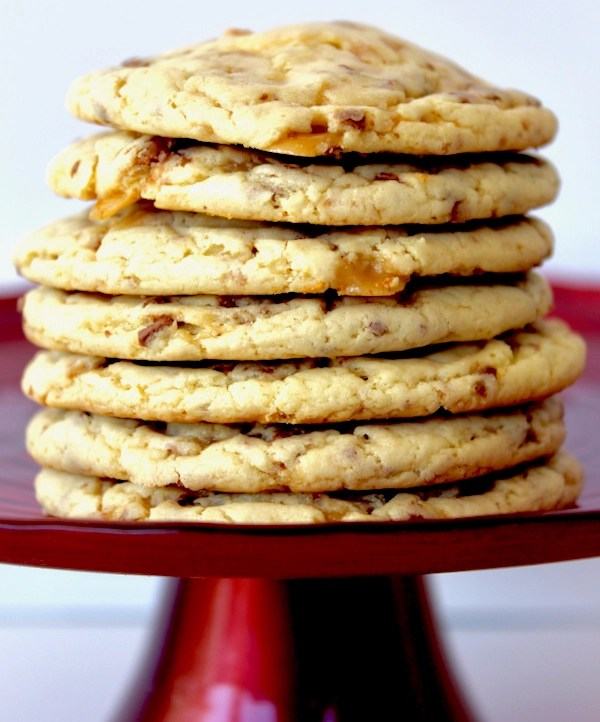 Heath Toffee Cake Mix Cookies Recipe