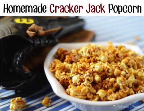 Homemade Cracker Jack Popcorn