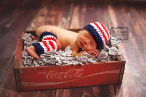 Patriotic Crochet Pattern for Baby