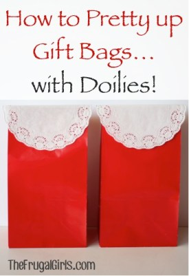 Gift Bags Doilies