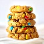 Peanut Butter M&M Cookies Recipe