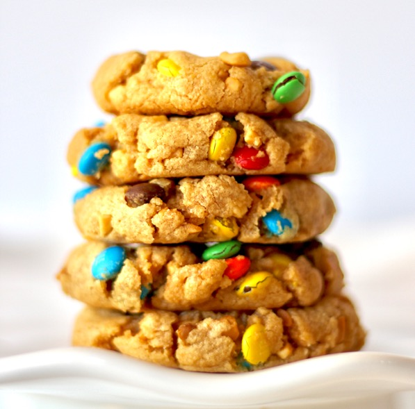 Peanut Butter M&M Cookies Recipe