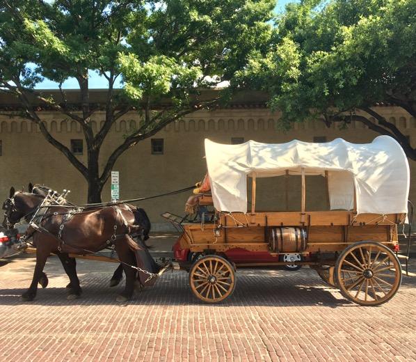 The Stockyards Wagon Ride