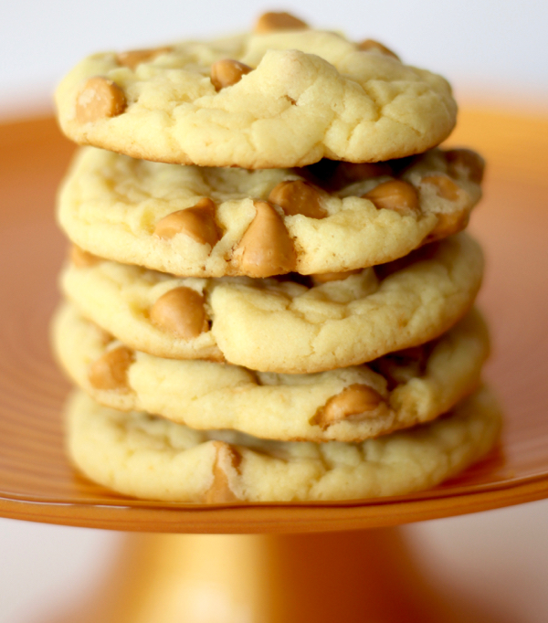 Butterscotch Cake Mix Cookies