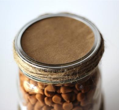 Butterscotch Cookie Mix Recipe In a Jar