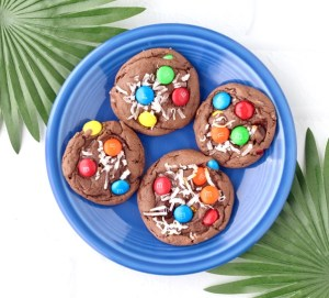 Coconut M&M Cookies Recipe