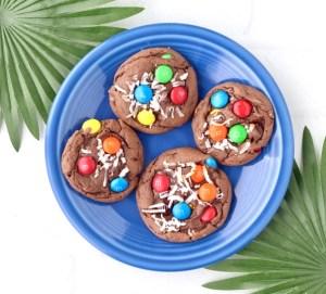 Coconut M&M Cookies Recipe