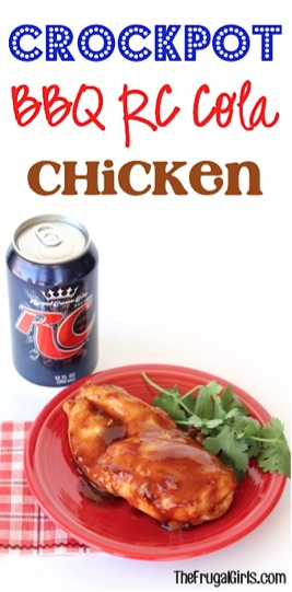 Crockpot Barbecue RC Cola Chicken