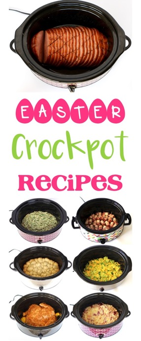 Easy Easter Crock Pot Recipes from TheFrugalGirls.com