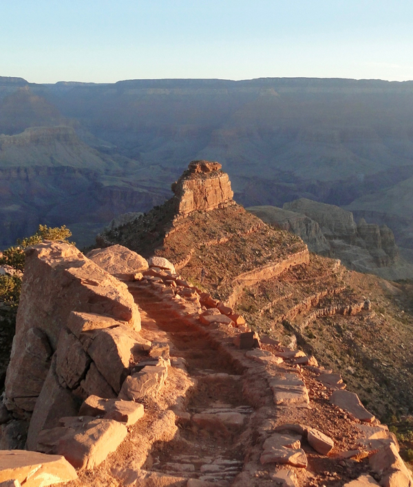 South Kaibab Trail, Grand Canyon at TheFrugalGirls.com