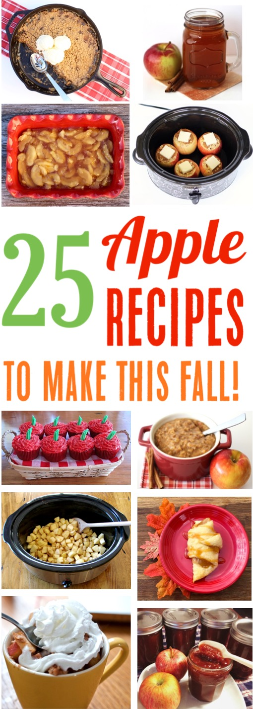 Apple Recipes - Easy Quick Fall Desserts everyone will love