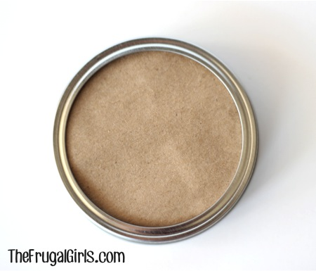 Fun Ideas for Gifts in a Jar Lids from TheFrugalGirls.com