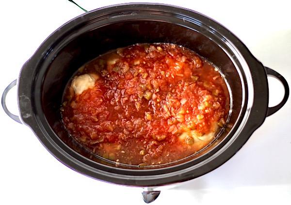 Crock Pot Pineapple Salsa Chicken Recipe