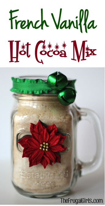 French Vanilla Cocoa Mix in a Jar