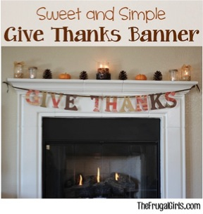 Give Thanks Banner!