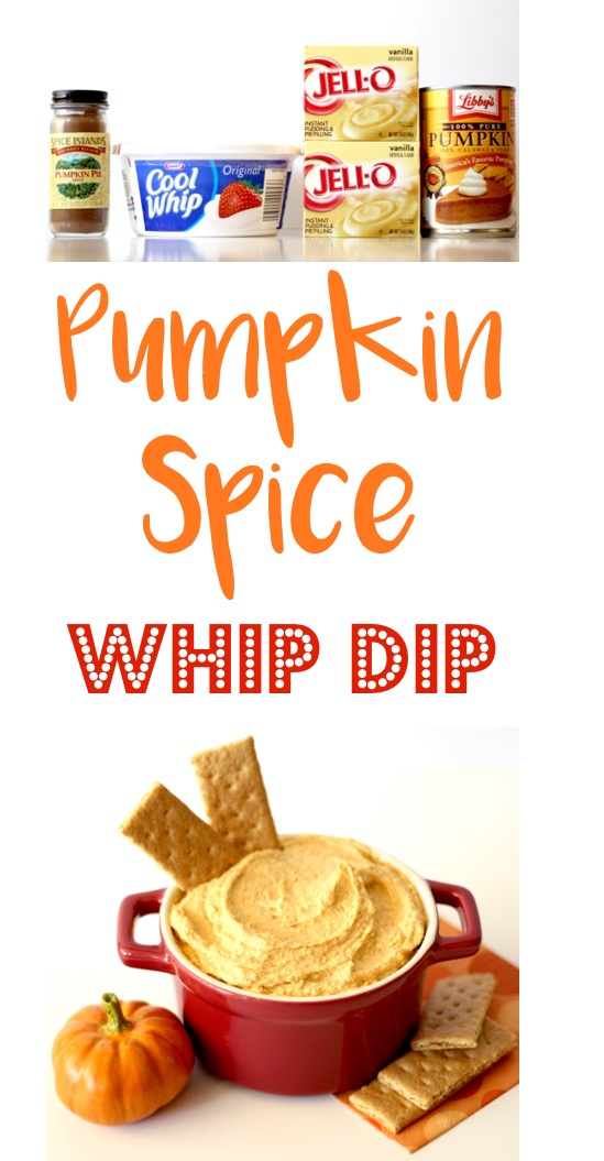 Pumpkin Spice Whip Dip Easy Recipe