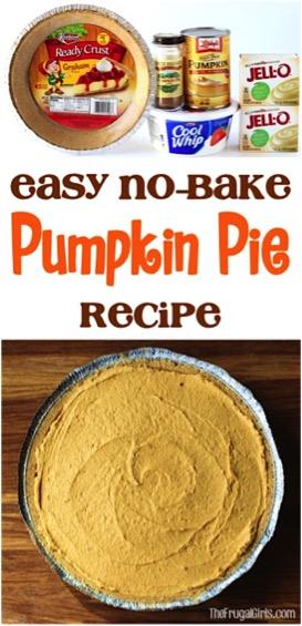 Best No Bake Pumpkin Pie Recipe