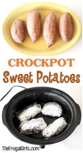 Crockpot Sweet Potatoes