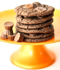 Reese's Cookies Made with Cake Mix