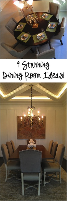 9 Stunning Dining Room Ideas