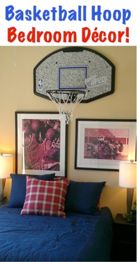 Basketball Hoop Bedroom Decor