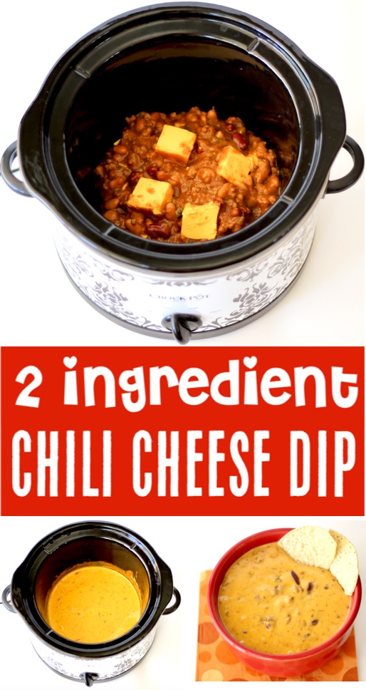 Crockpot Chili Cheese Dip Easy Recipe - Best Appetizer