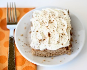 Crockpot Cinnamon Spice Cake Recipe