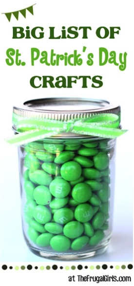 St. Patrick's Day Crafts at TheFrugalGirls.com