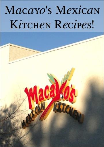 Macayo's Mexican Recipes