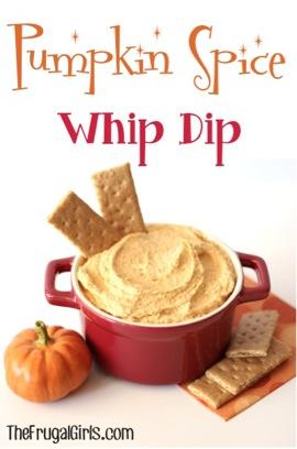 Pumpkin Spice Whip Dip