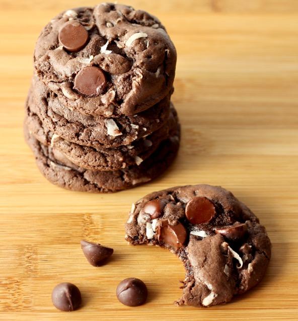 Copycat Mounds Cake Mix Cookies Recipe