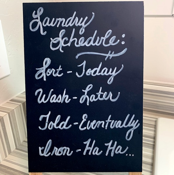 DIY Laundry Room Signs
