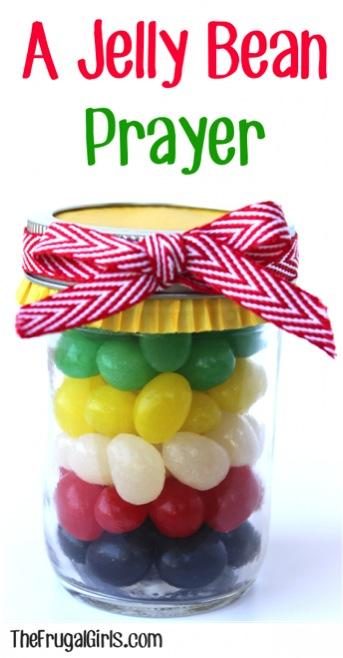 A Jelly Bean Prayer Gift in a Jar
