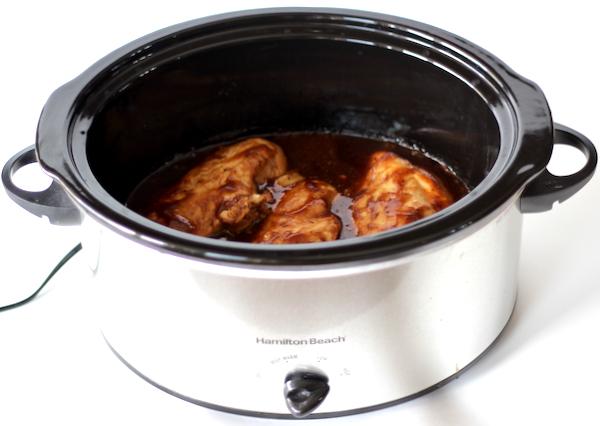 Crockpot BBQ Chicken Sandwich Recipe
