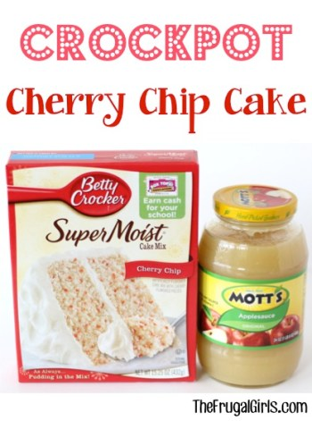 Crockpot Cherry Chip Cake Recipe