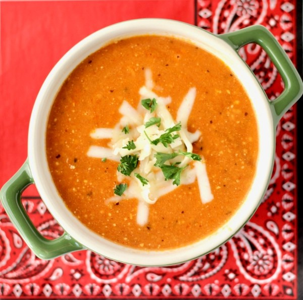 Crockpot Pepper Jack Tomato Soup Recipe