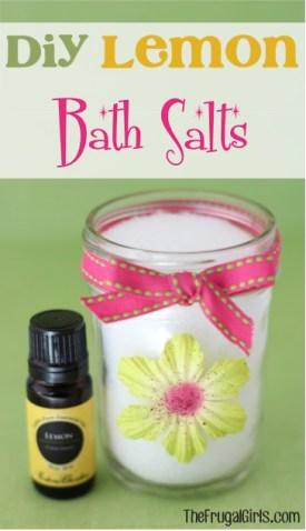 DIY Lemon Bath Salts from TheFrugalGirls.com