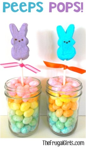 Peeps Pops from TheFrugalGirls.com